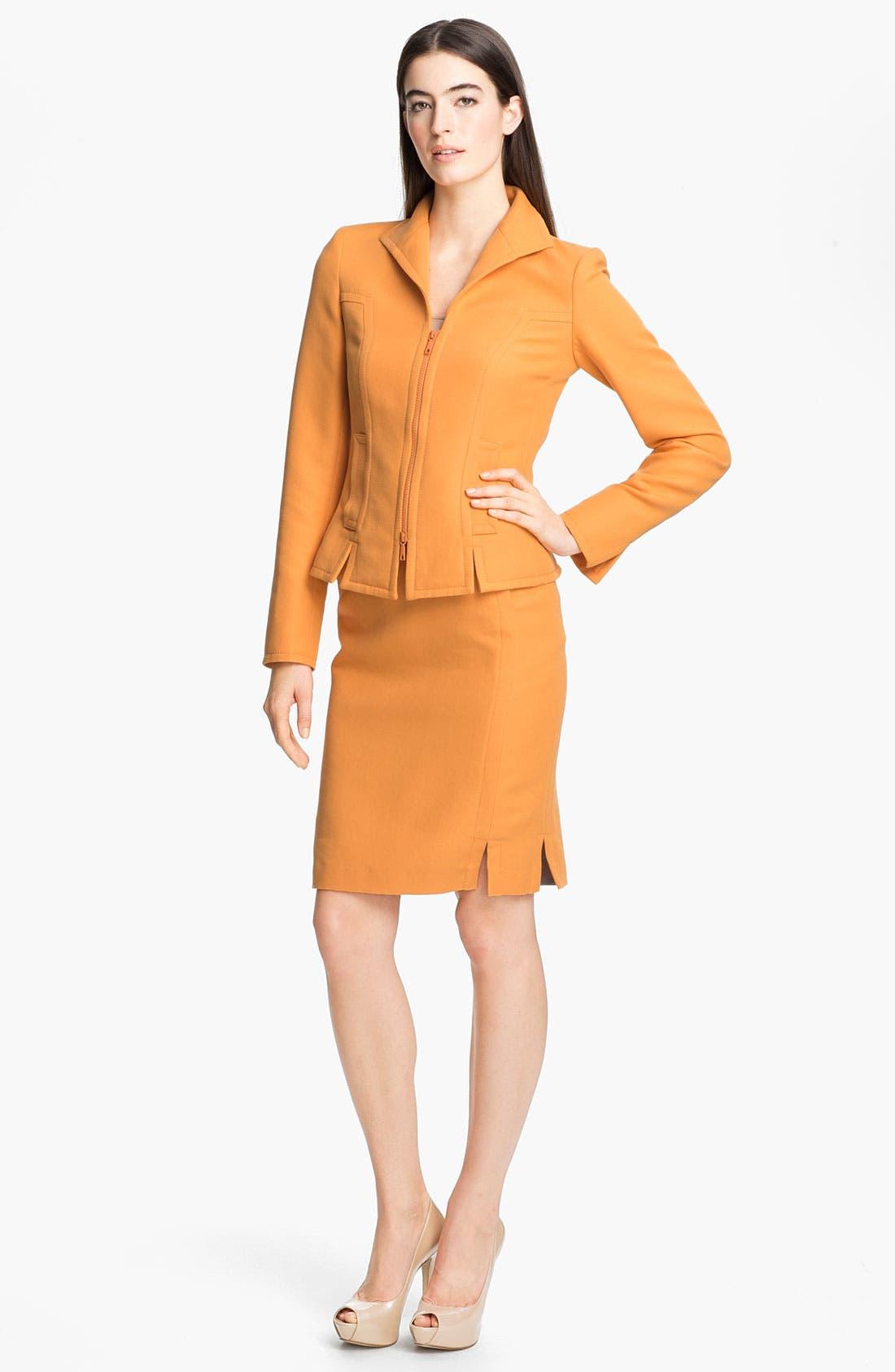 Alternate Image 4  - Lafayette 148 New York 'Sofia - Retro Cloth' Skirt