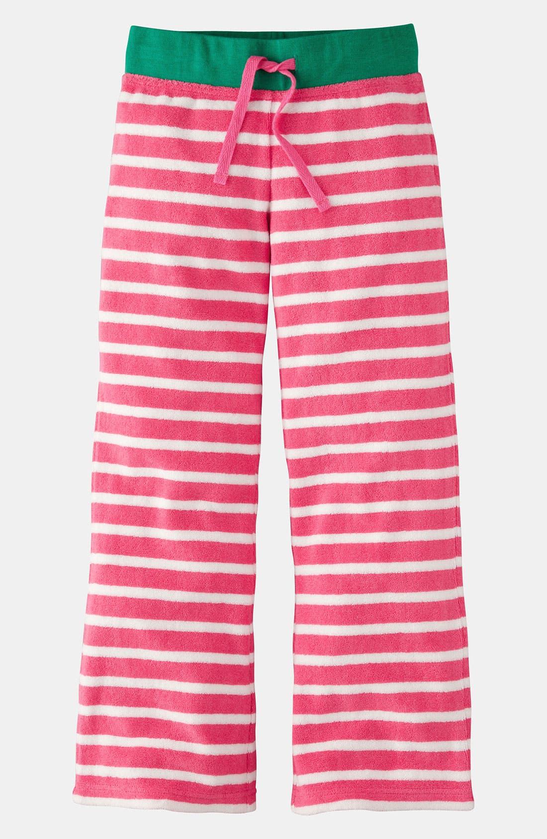 Main Image - Mini Boden 'Toweling' Pants (Little Girls & Big Girls)