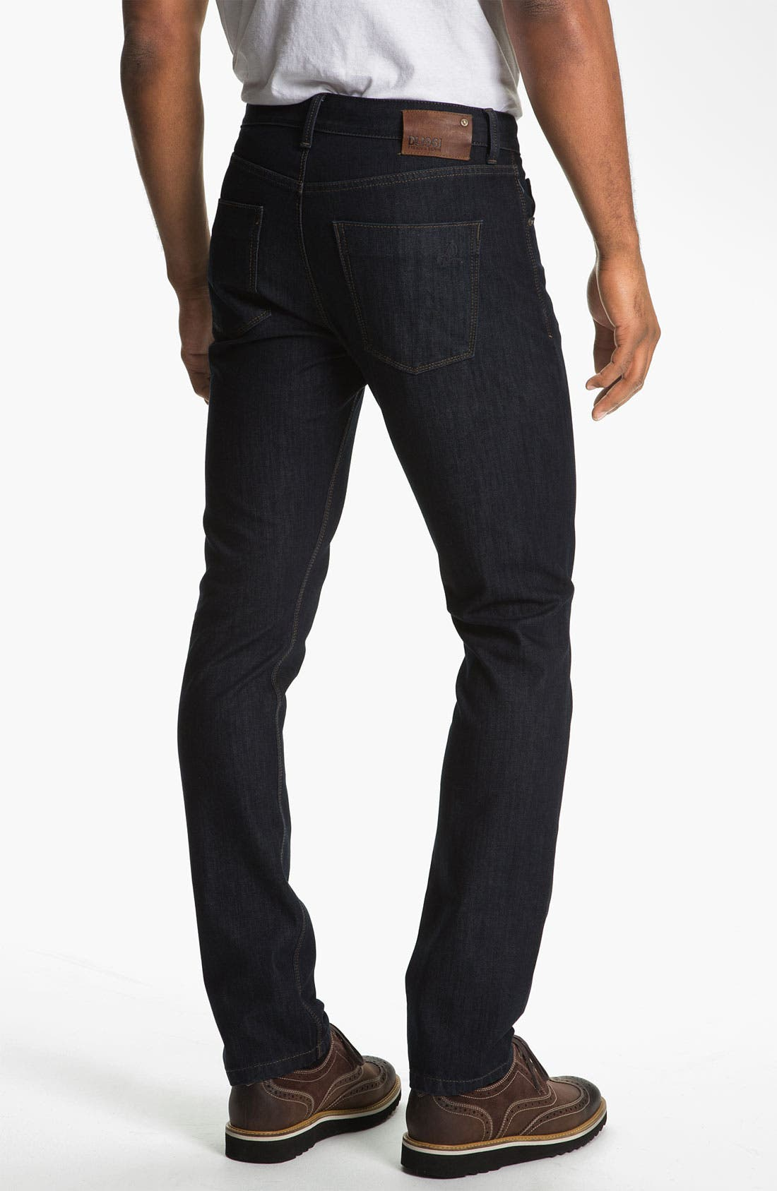 Alternate Image 2  - DL1961 'Russell' Slim Straight Leg Jeans (Viper)