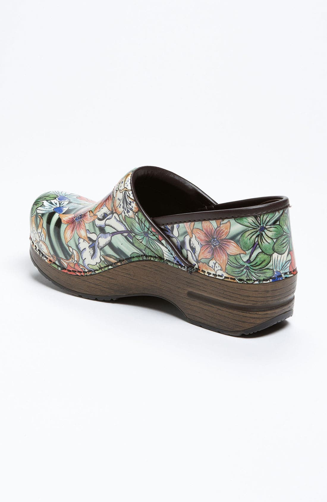 Alternate Image 2  - Dansko 'Professional - Tiger Lily' Patent Clog (Limited Edition)