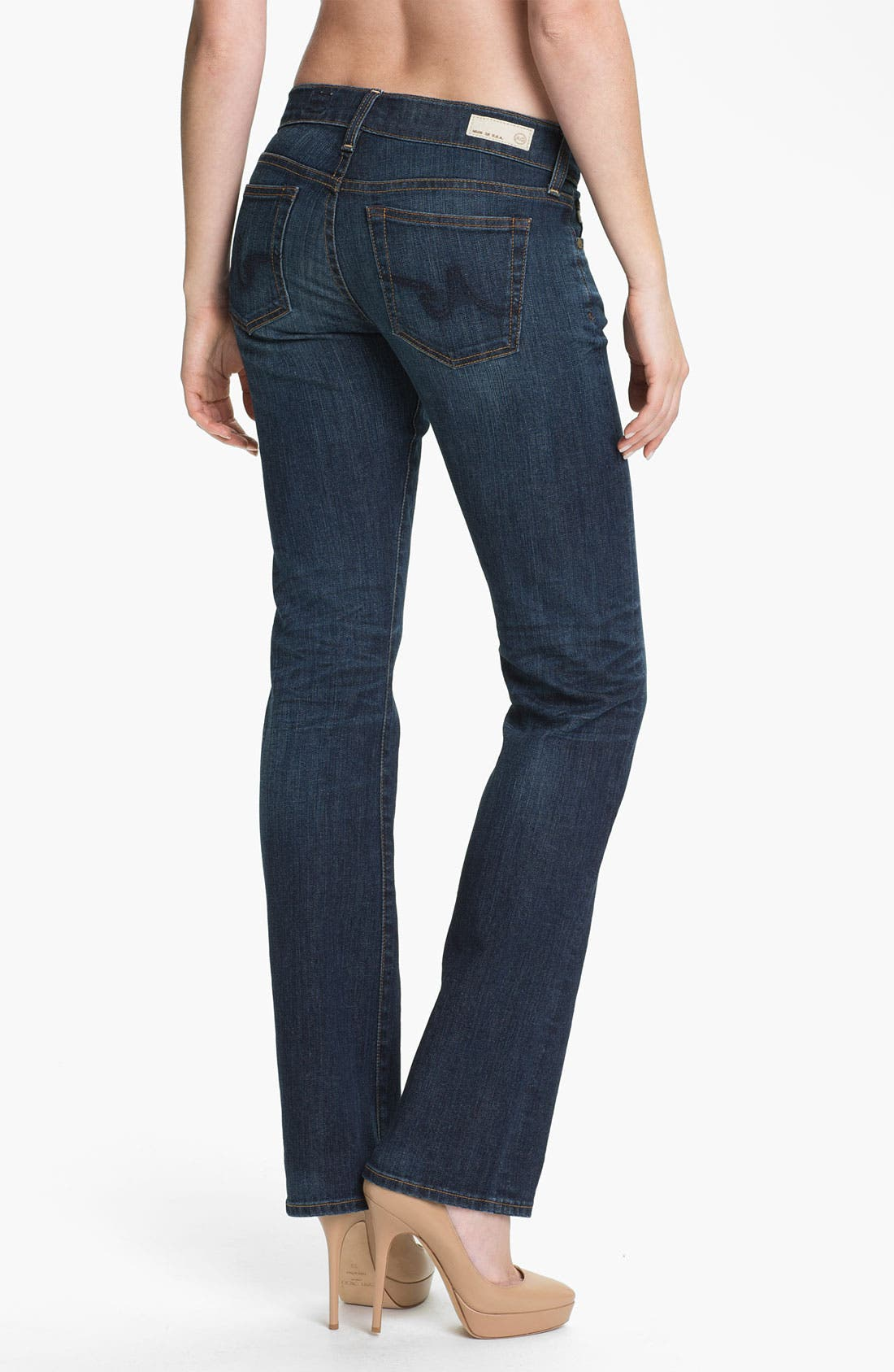 Alternate Image 2  - AG 'The Tomboy' Relaxed Jeans (5 Year)