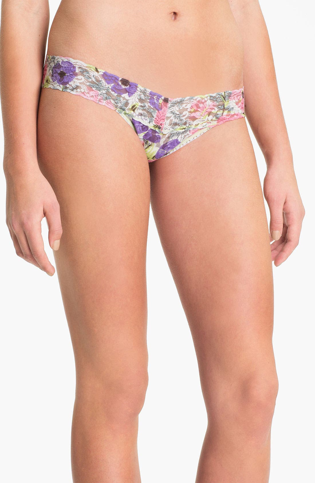 Main Image - Hanky Panky 'Poppies' Low Rise Thong