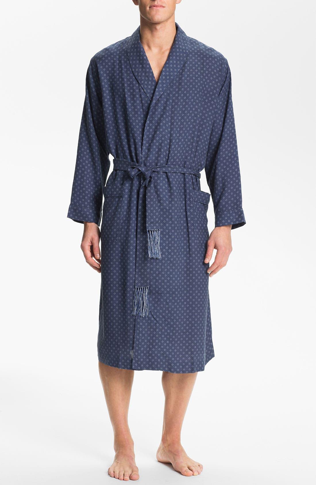 Alternate Image 1 Selected - Majestic International 'Patrician' Silk Robe