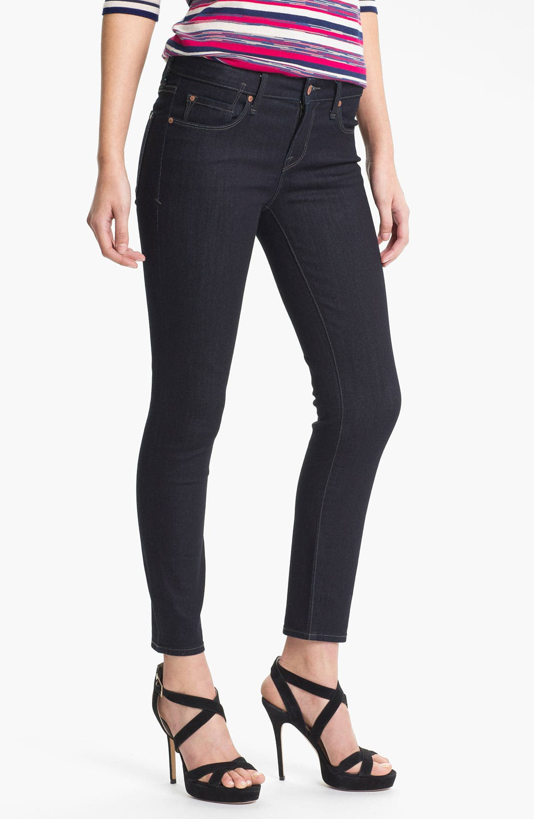 Alternate Image 1 Selected - MARC BY MARC JACOBS 'Lola' Crop Skinny Stretch Jeans