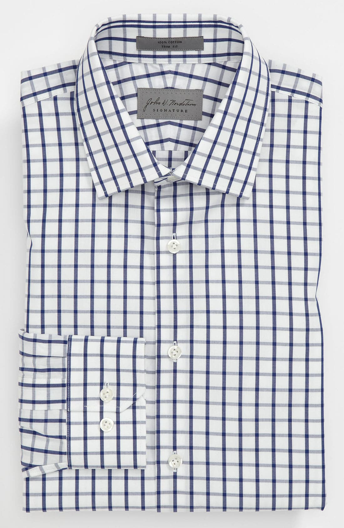 Alternate Image 1 Selected - John W. Nordstrom® Signature Trim Fit Dress Shirt (Online Only)