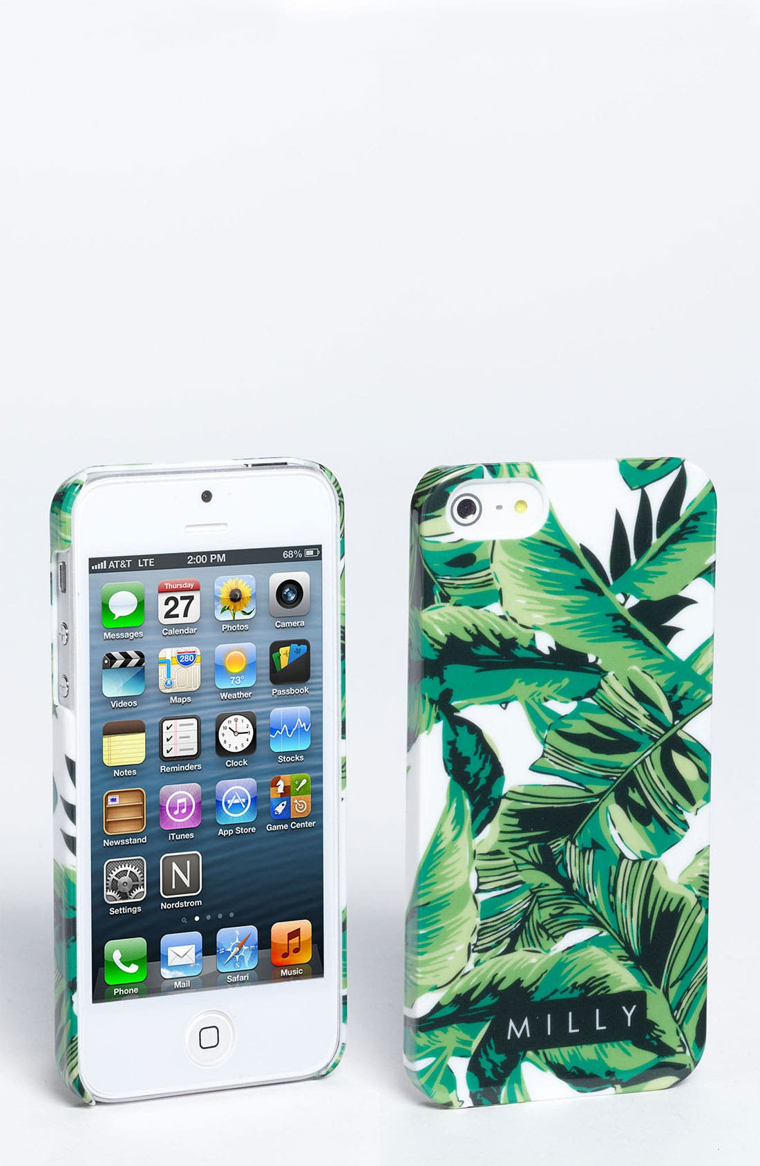 Alternate Image 1 Selected - Milly 'Banana Leaf' iPhone 5 Case