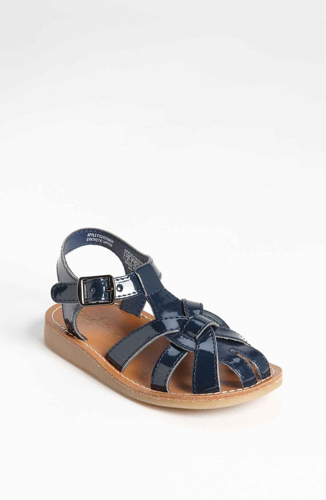 Alternate Image 1 Selected - Cole Haan 'Apple' Fisherman Sandal (Walker & Toddler)