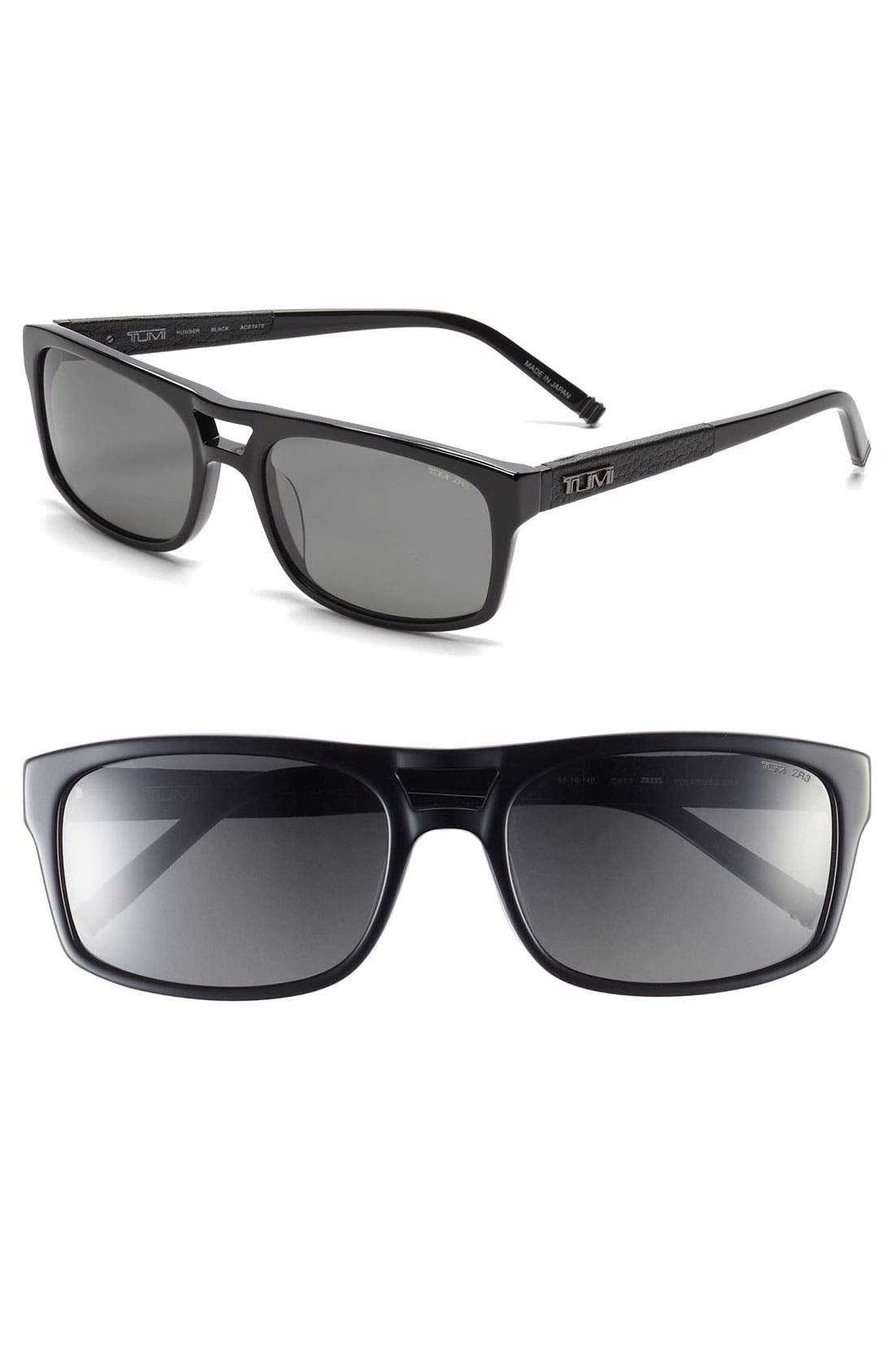 Main Image - Tumi 'Humber' 58mm Polarized Sunglasses