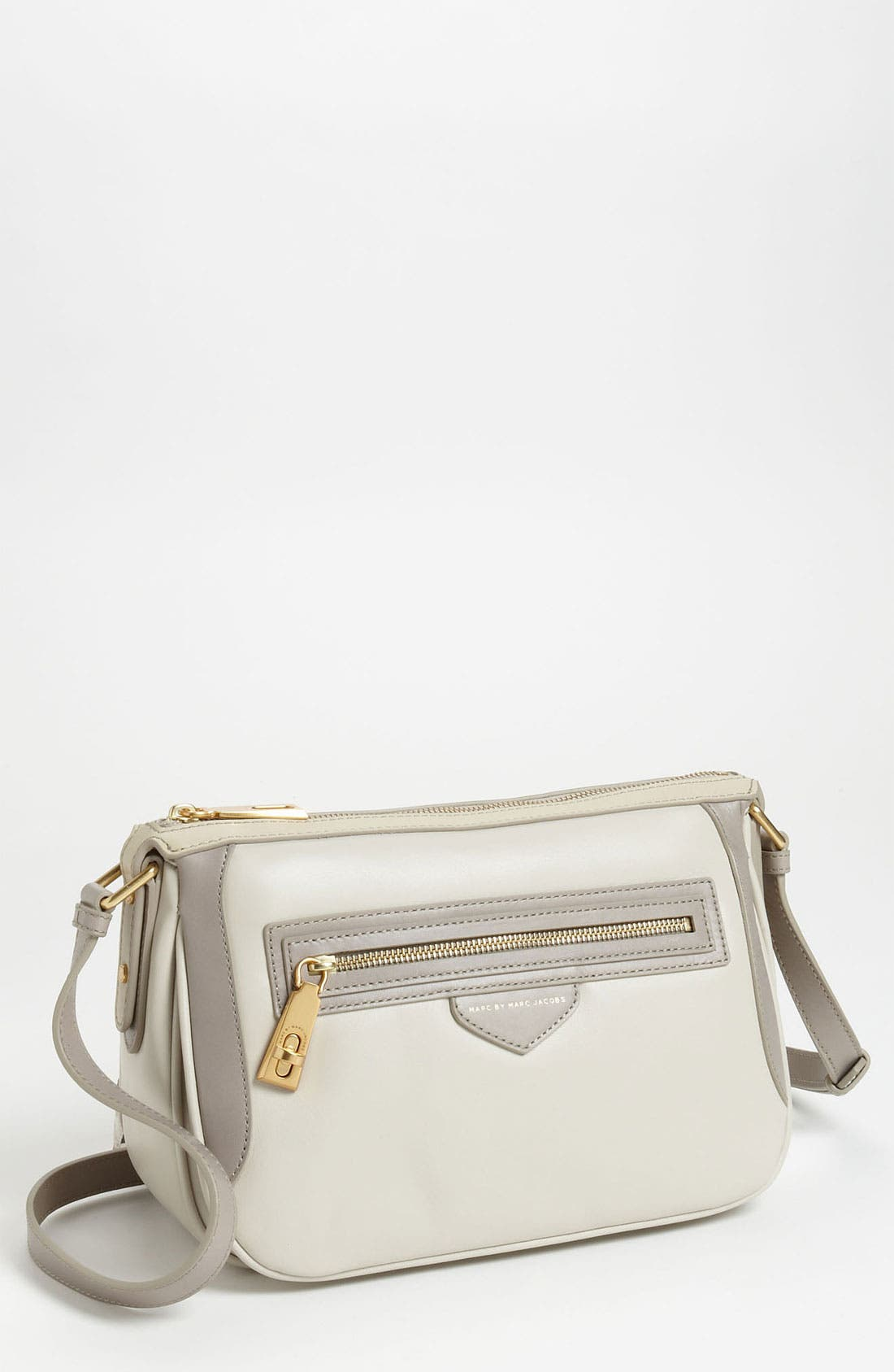 Alternate Image 1 Selected - MARC BY MARC JACOBS 'The Ziplocker Sophie - Mini' Leather Crossbody Bag