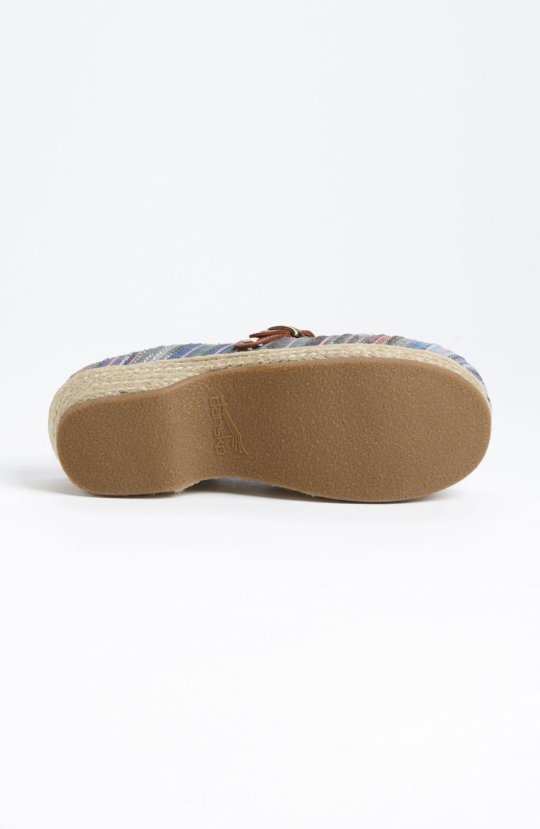 Alternate Image 4  - Dansko 'Jute' Mule Clog