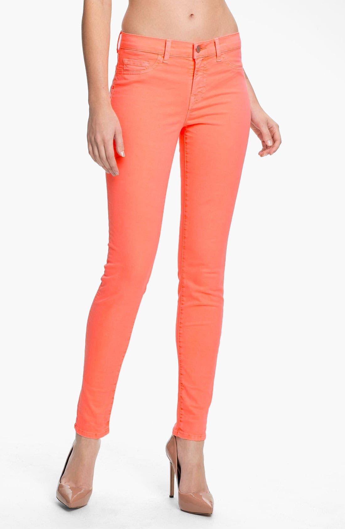 Main Image - J Brand Skinny Stretch Twill Pants