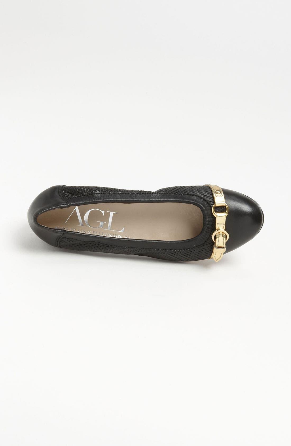 Alternate Image 3  - Attilio Giusti Leombruni Perforated Toe Cap Ballet Flat