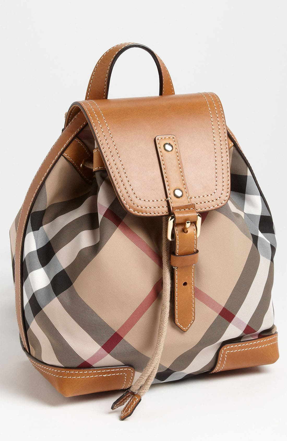 Alternate Image 1 Selected - Burberry 'Dennis - Small' Backpack (Girls)