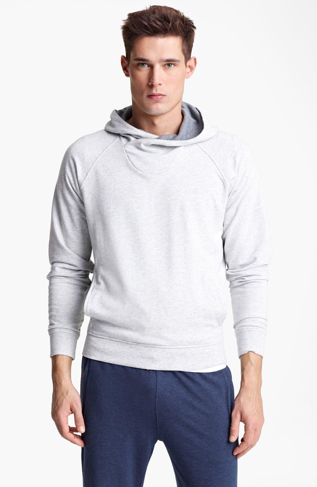 Alternate Image 1 Selected - Zegna Sport Hooded Sweatshirt