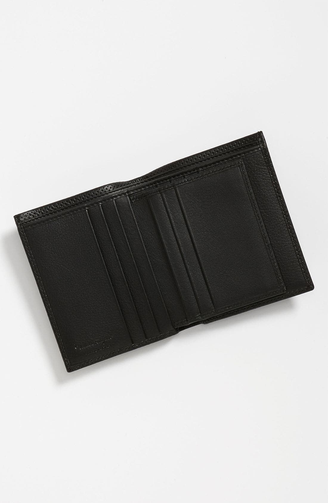Alternate Image 3  - Salvatore Ferragamo 'Melrose' Perforated Leather Wallet