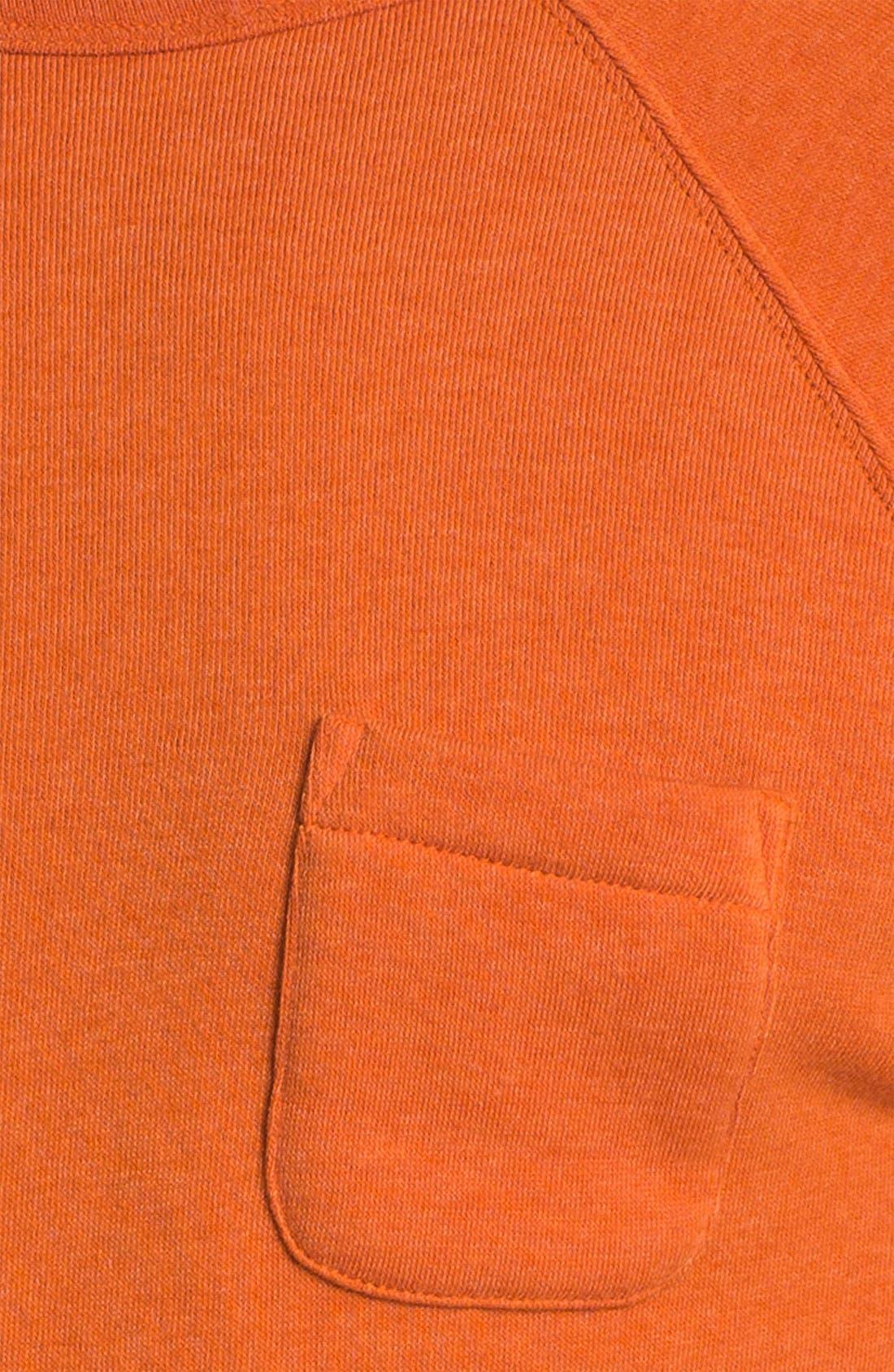 Lofty Creature Comforts Crewneck Sweatshirt,                             Alternate thumbnail 3, color,                             Apricot