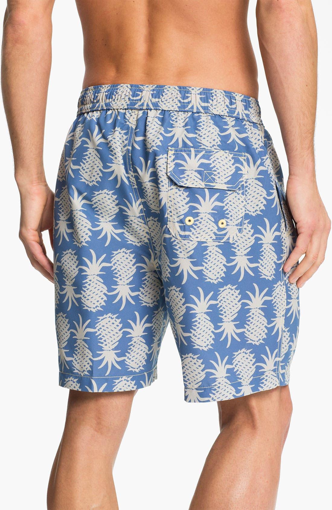 Alternate Image 2  - Tommy Bahama Relax 'Pineapple Upside Down' Swim Trunks