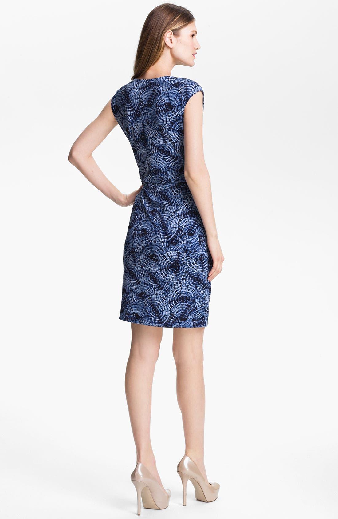 Alternate Image 2  - MICHAEL Michael Kors Parasol Print Faux Wrap Dress