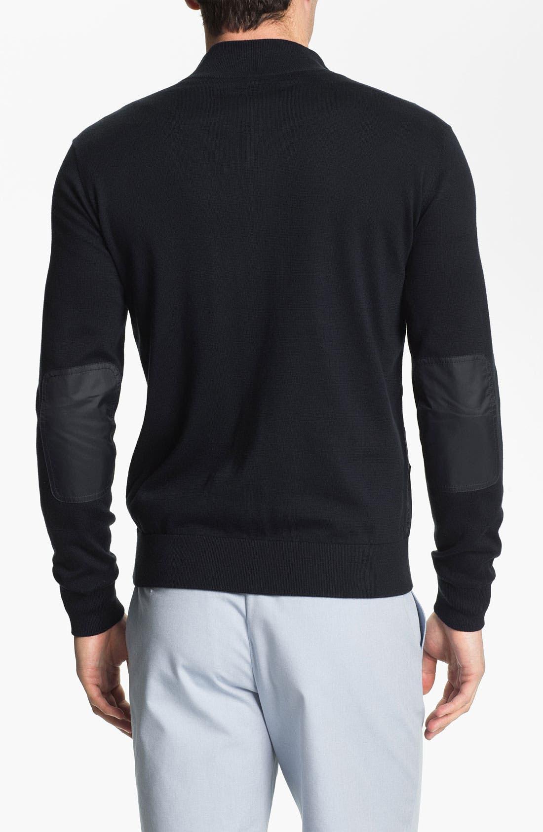 Alternate Image 2  - Façonnable Zip Cardigan