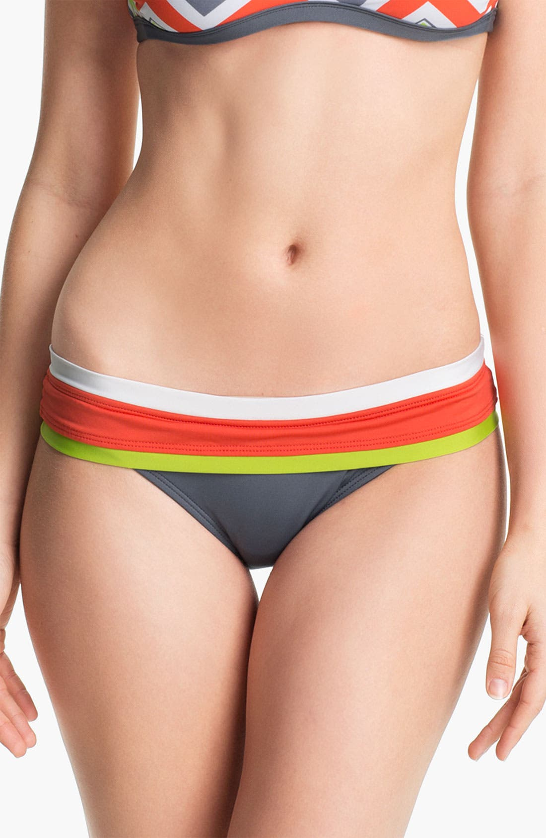 Alternate Image 4  - BCA Colorblock Bikini Bottoms
