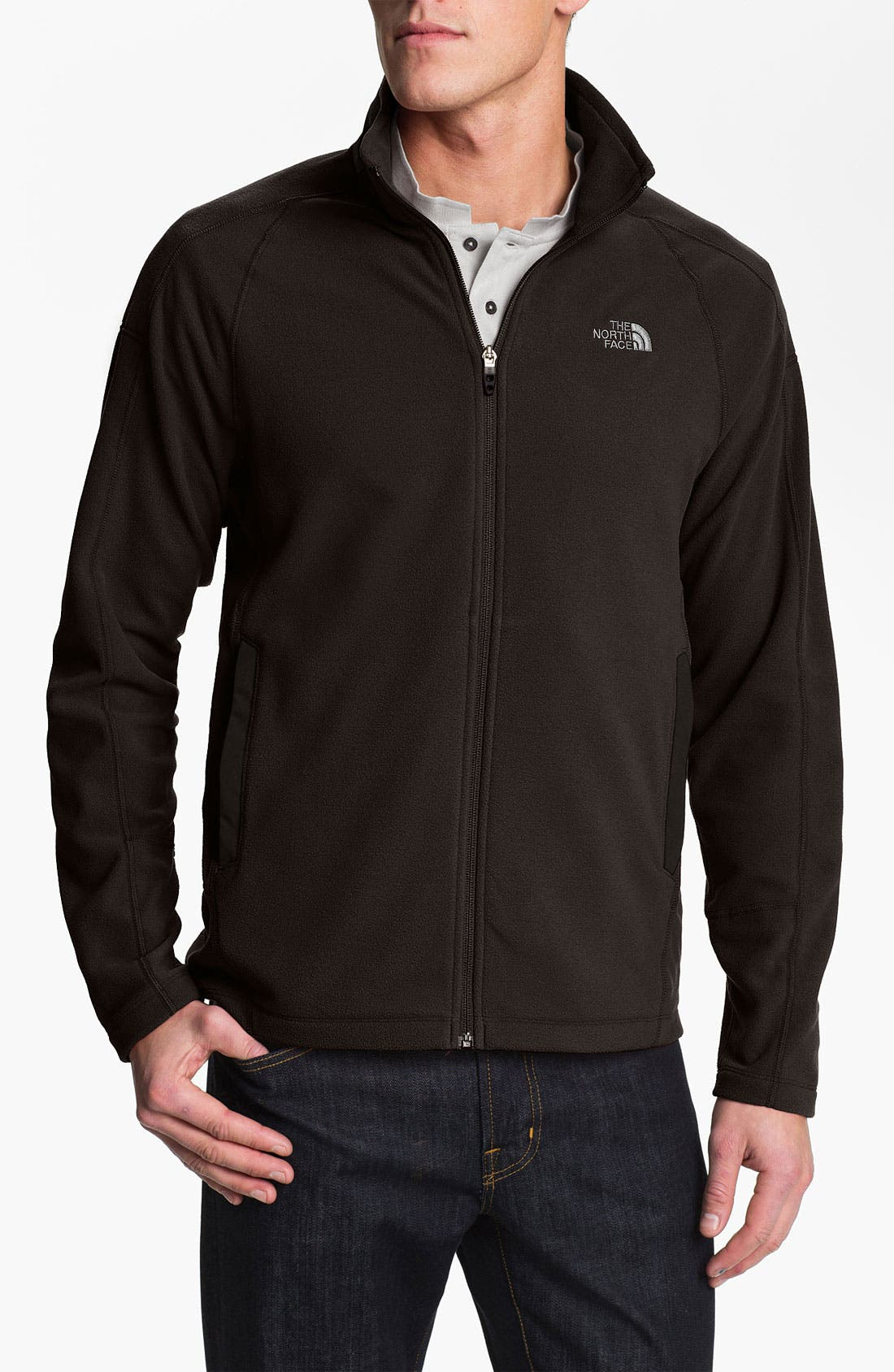 Alternate Image 1 Selected - The North Face 'RDT 100' FlashDry™ Full Zip Fleece Jacket