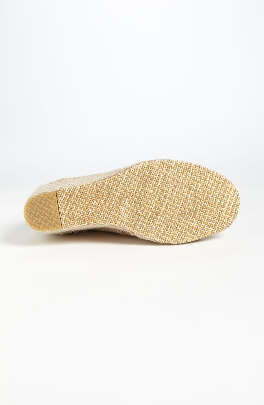 Alternate Image 4  - TOMS 'Desert' Burlap Wedge Bootie