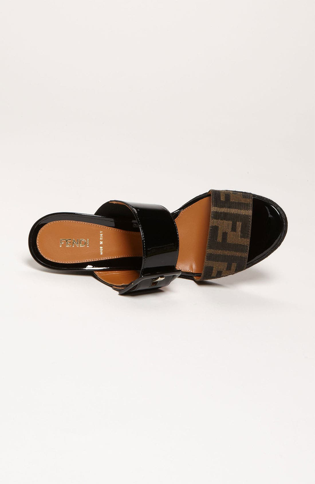 Alternate Image 3  - Fendi 'Vernis' Wedge Sandal (Women)
