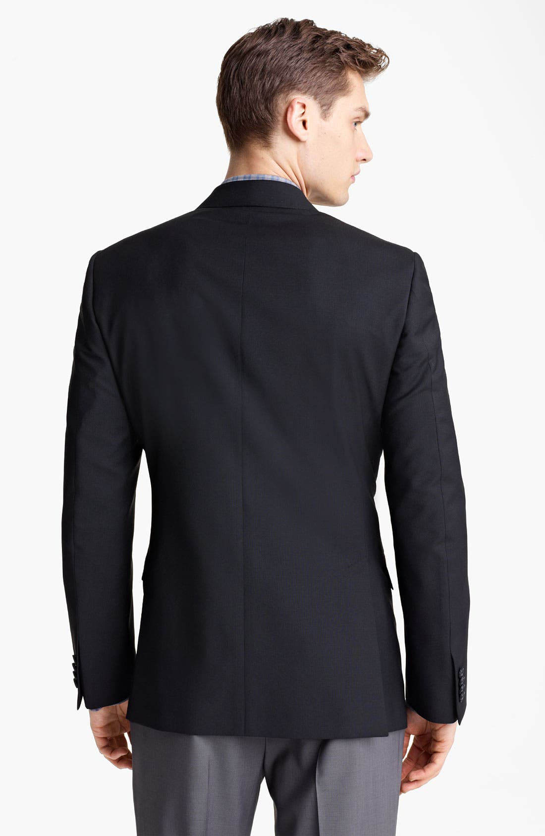 Alternate Image 2  - Z Zegna Trim Fit Wool Blend Blazer