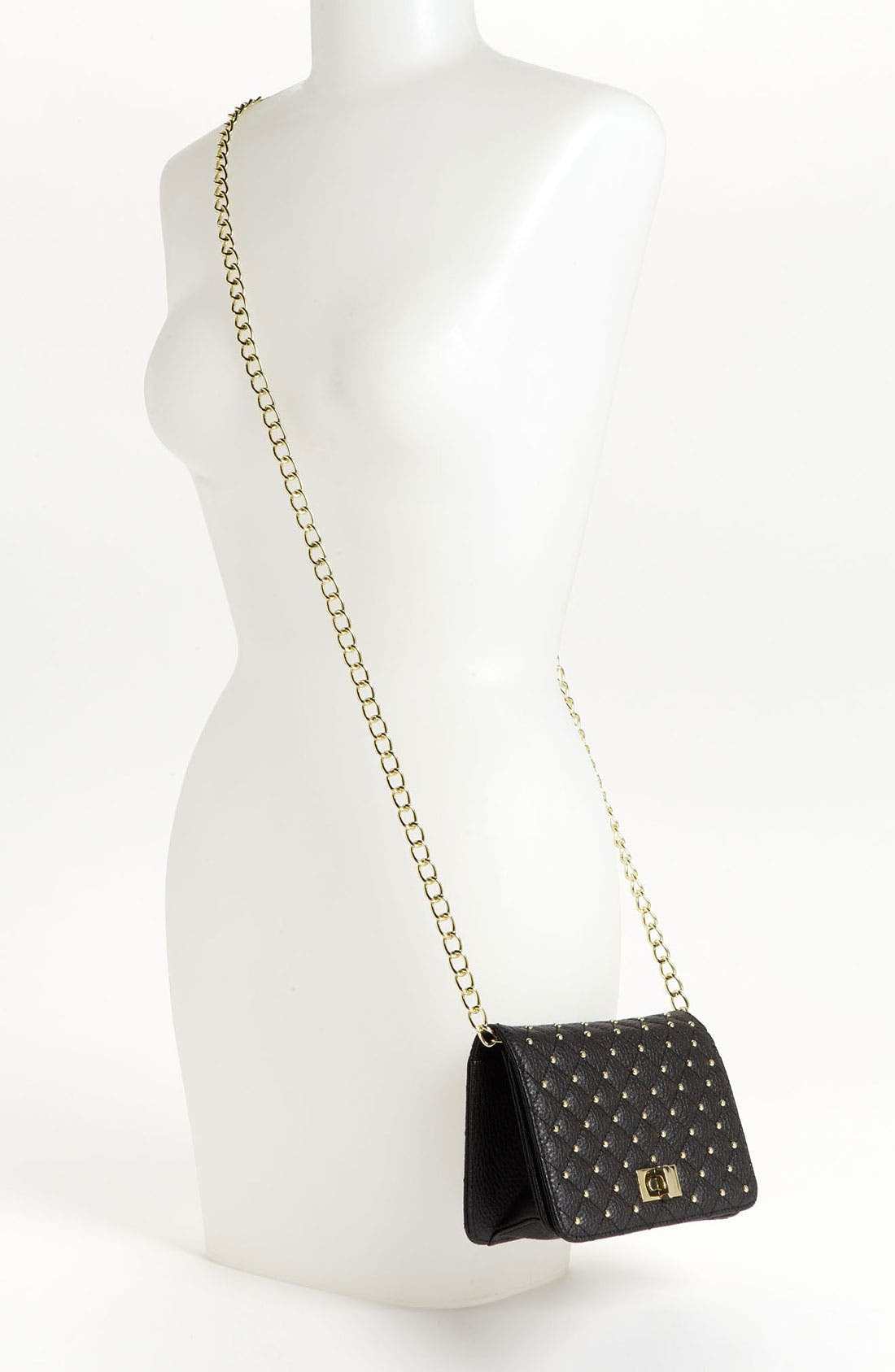 Alternate Image 2  - Lulu Stud Quilted Crossbody Bag