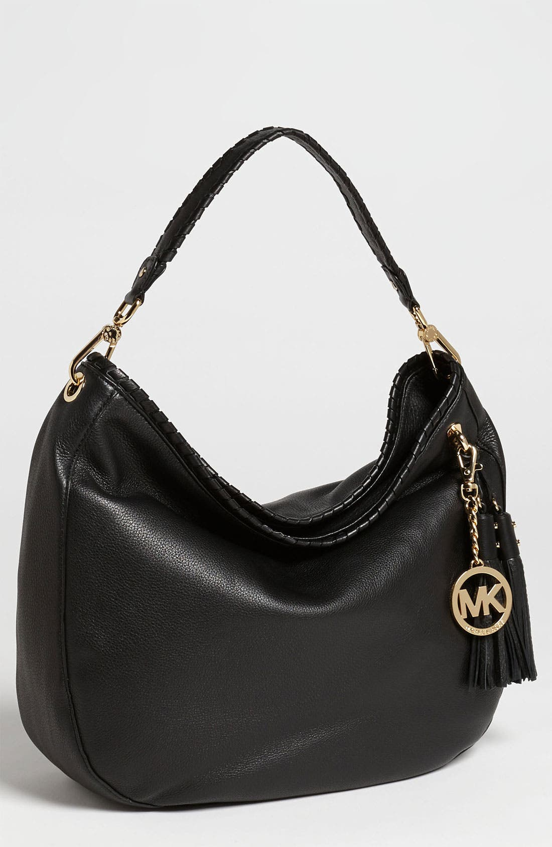 Alternate Image 1 Selected - MICHAEL Michael Kors 'Large Bennet' Leather Shoulder Bag