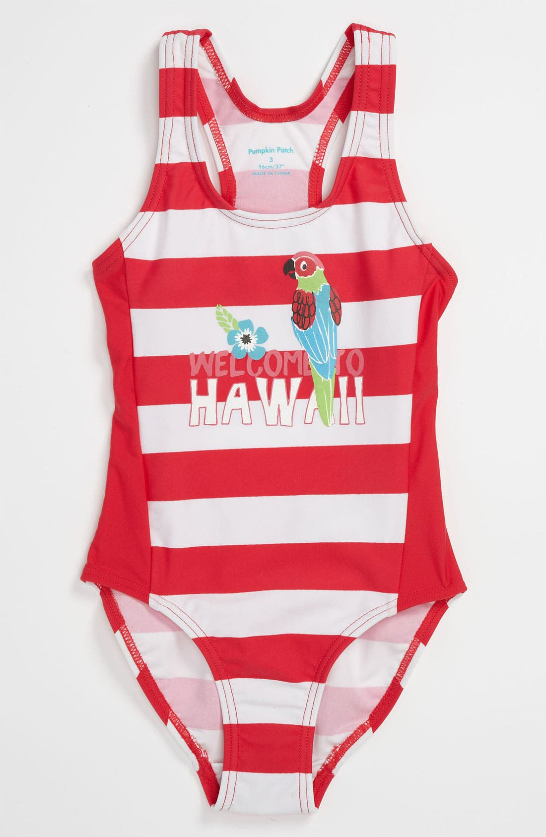 Main Image - Pumpkin Patch One Piece Swimsuit (Toddler)