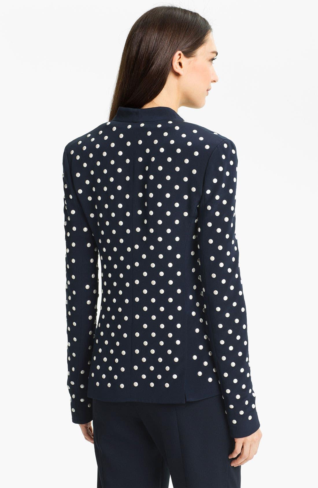Alternate Image 2  - Diane von Furstenberg 'Paulette' Studded Jacket
