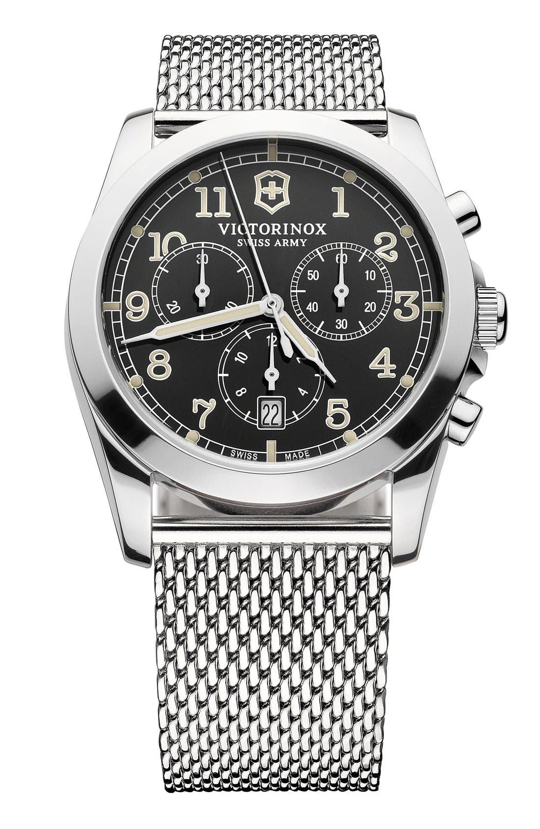 Alternate Image 1 Selected - Victorinox Swiss Army® 'Infantry' Chronograph Watch