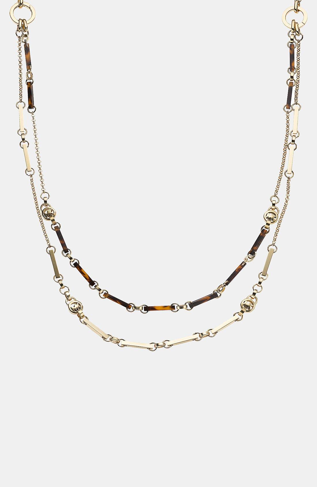Alternate Image 2  - Michael Kors 'Jet Set' Convertible Necklace