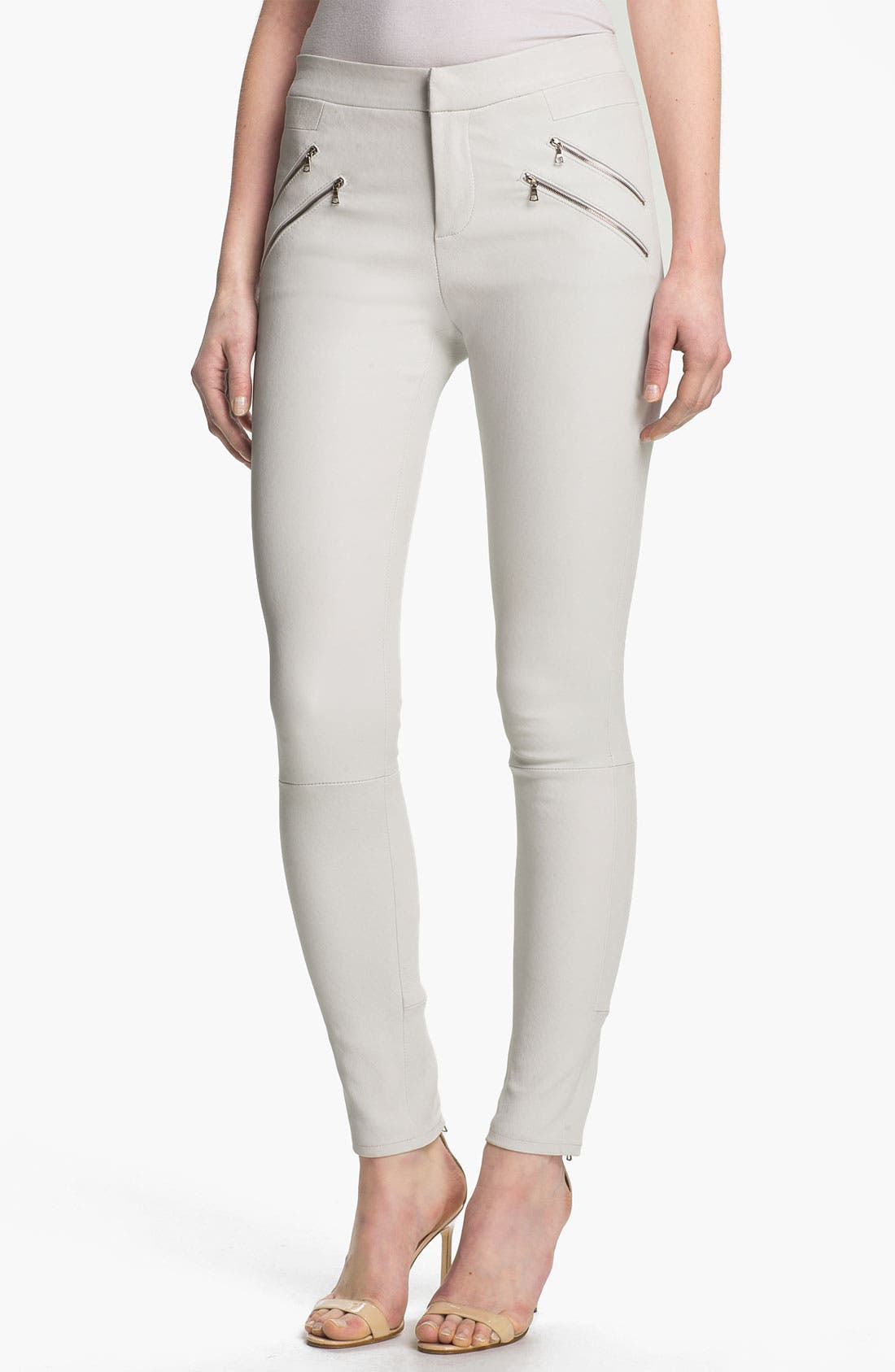Alternate Image 1 Selected - J Brand Ready-to-Wear 'Claudette' Stretch Leather Pants