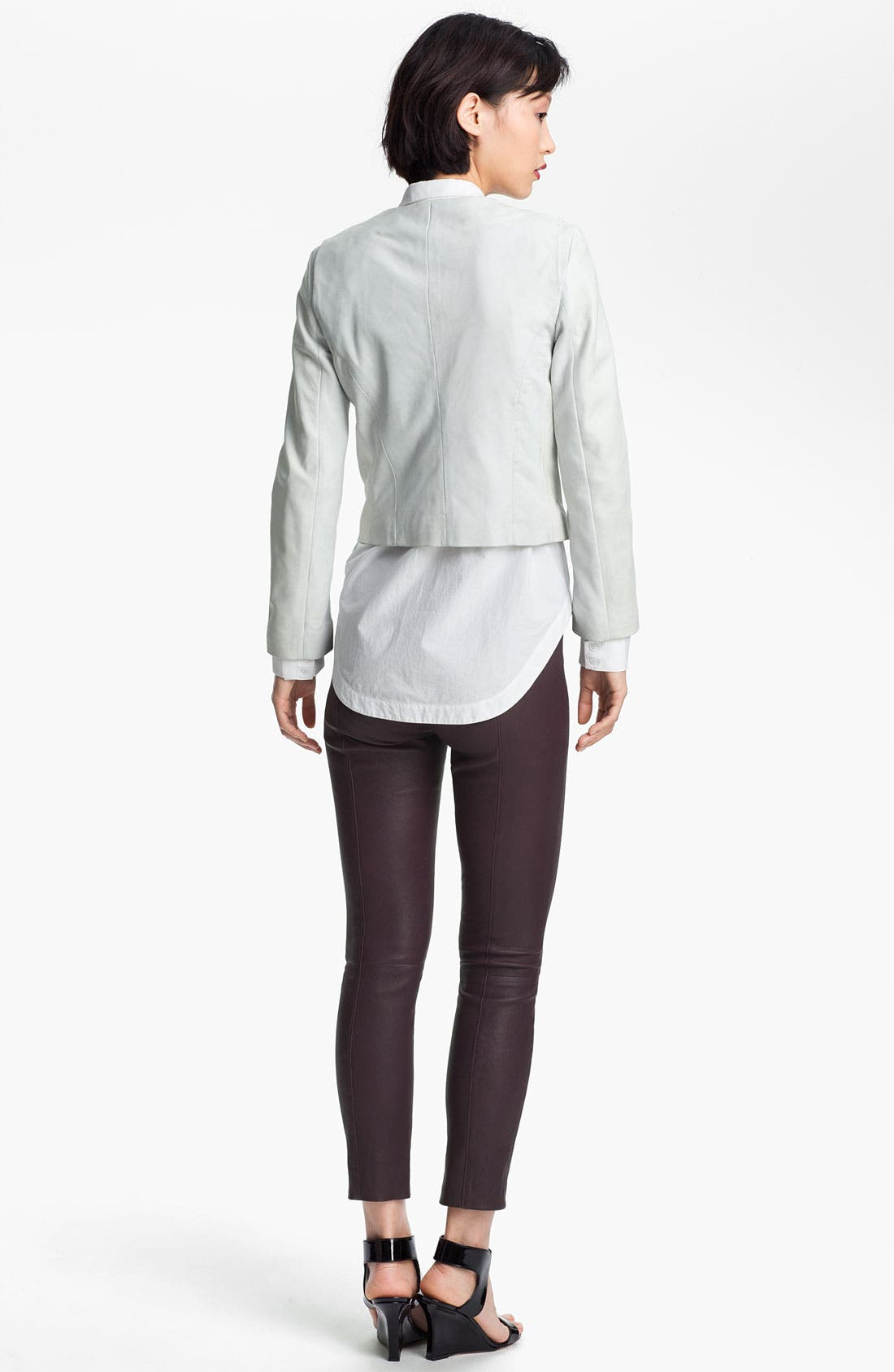 Alternate Image 5  - Twenty8Twelve 'Rae' Leather Jacket