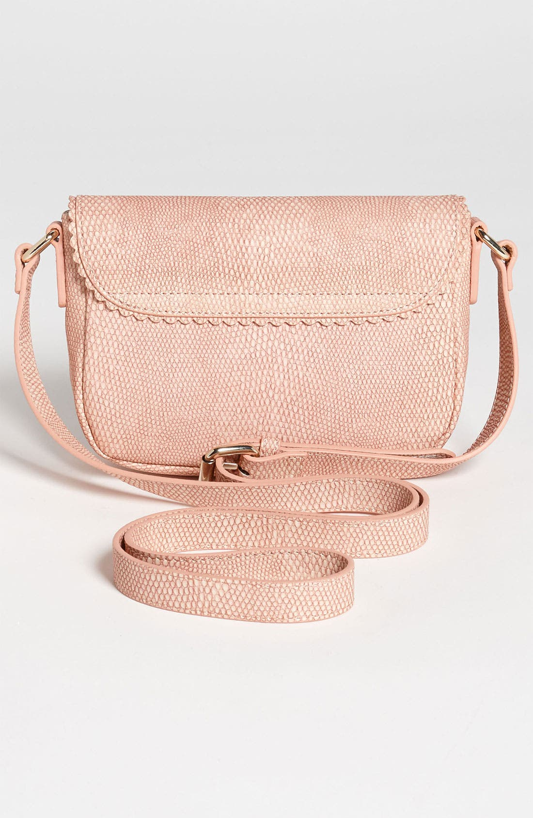 Alternate Image 4  - Halogen® 'Layla' Lizard Embossed Crossbody Bag