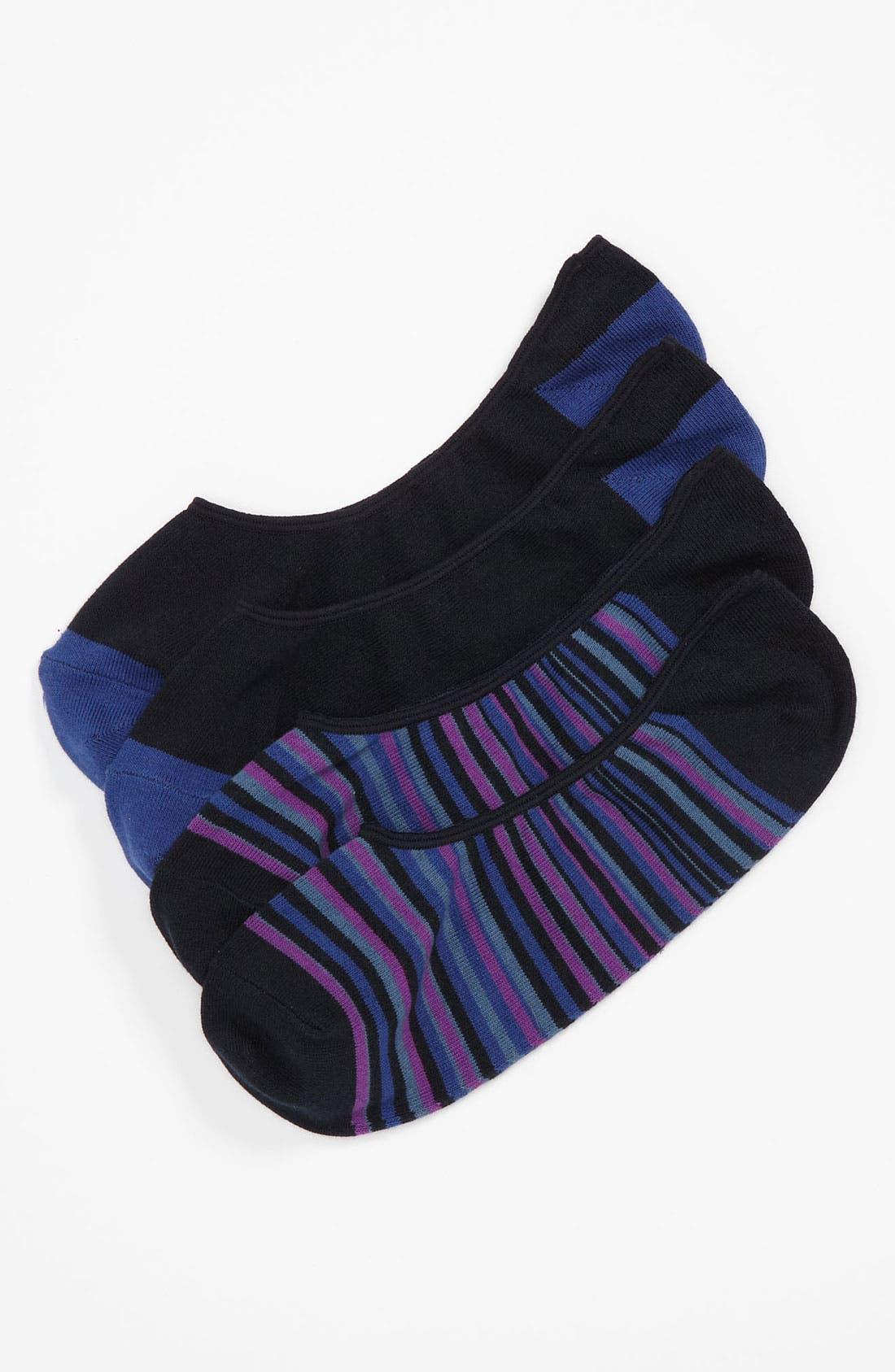 Alternate Image 1 Selected - Cole Haan 'Town Stripe' Liner Socks