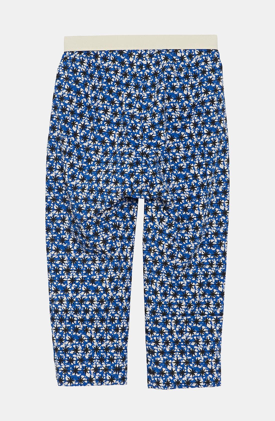 Alternate Image 2  - Marni Star Print Trousers (Little Girls & Big Girls)