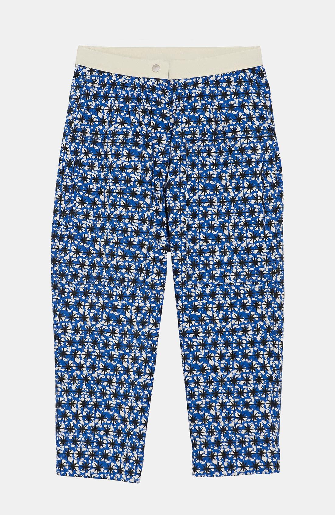 Main Image - Marni Star Print Trousers (Little Girls & Big Girls)