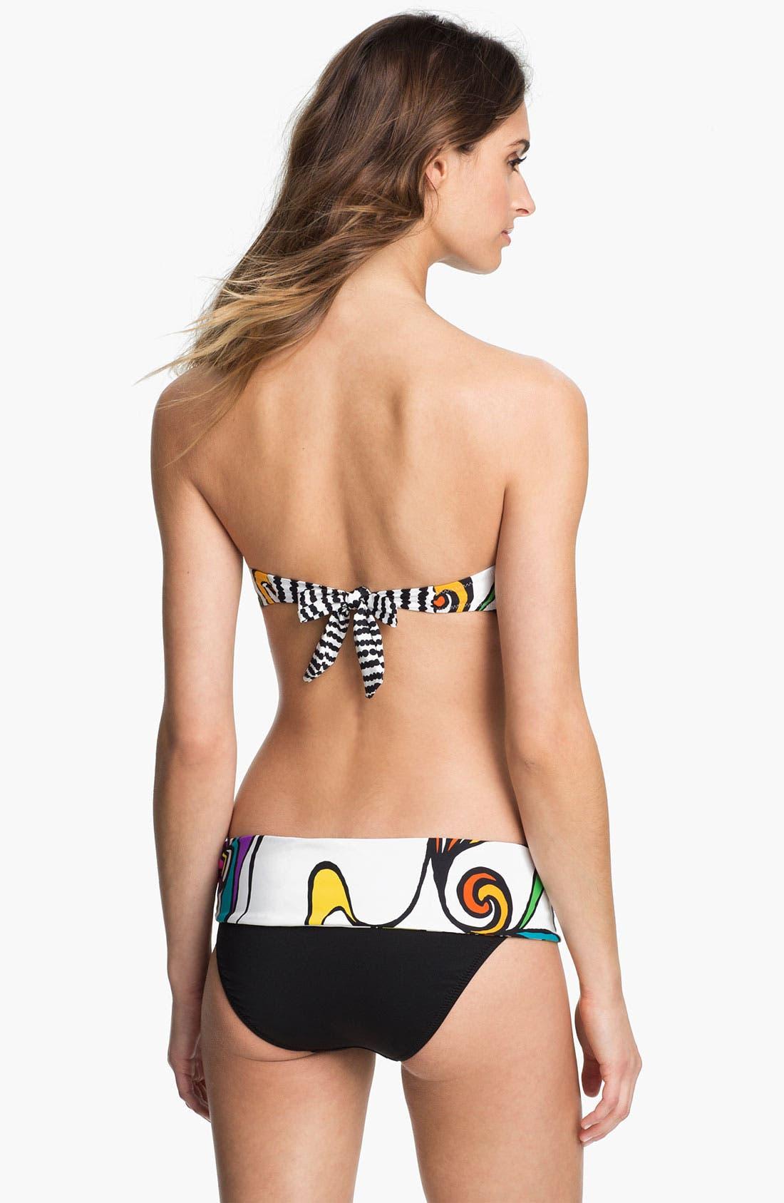Alternate Image 4  - Trina Turk 'Aquarius' Bandeau Bikini Top