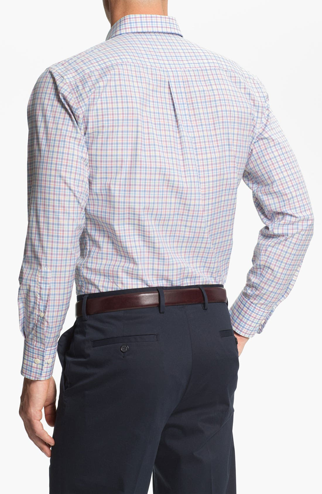 Alternate Image 2  - Peter Millar Regular Sport Shirt