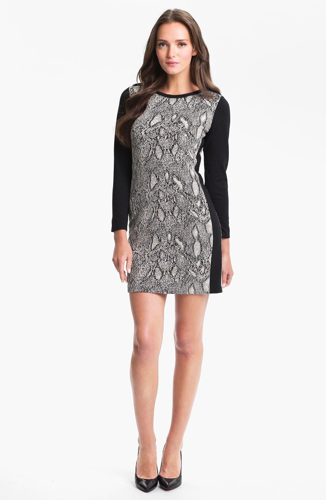 Alternate Image 1 Selected - Rebecca Taylor Print Shift Dress