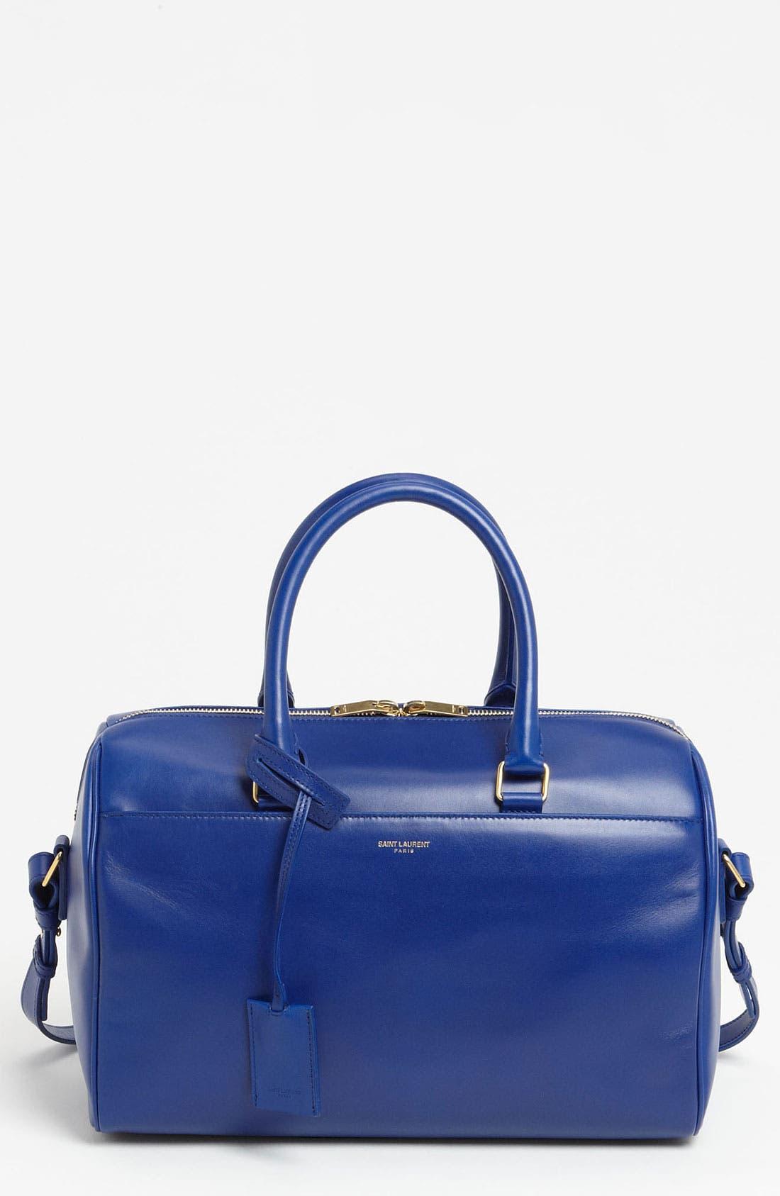 Main Image - Saint Laurent 'Duffle 6' Leather Satchel