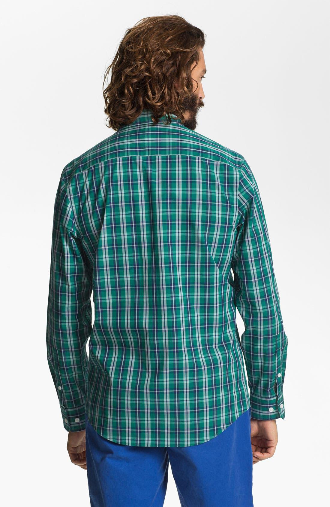 Alternate Image 2  - Calibrate Non Iron Regular Fit Sport Shirt