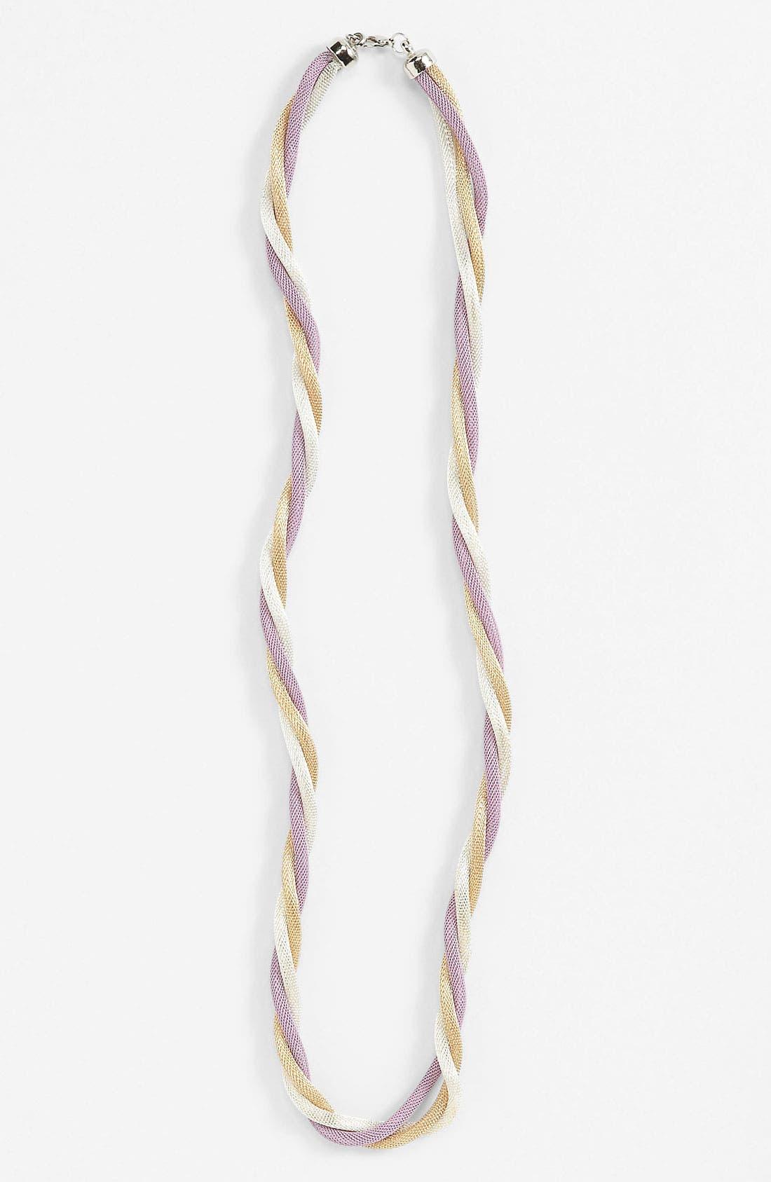 Main Image - Natasha Couture 'Twisted Snake Chain' Necklace