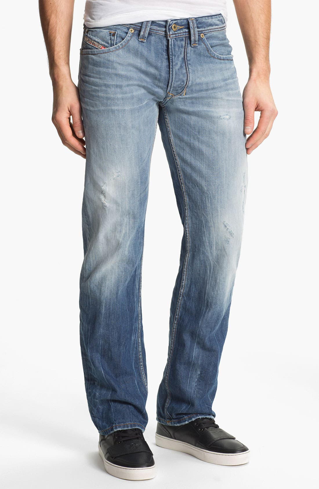 Alternate Image 2  - DIESEL® 'Larkee' Straight Leg Jeans (0810N)