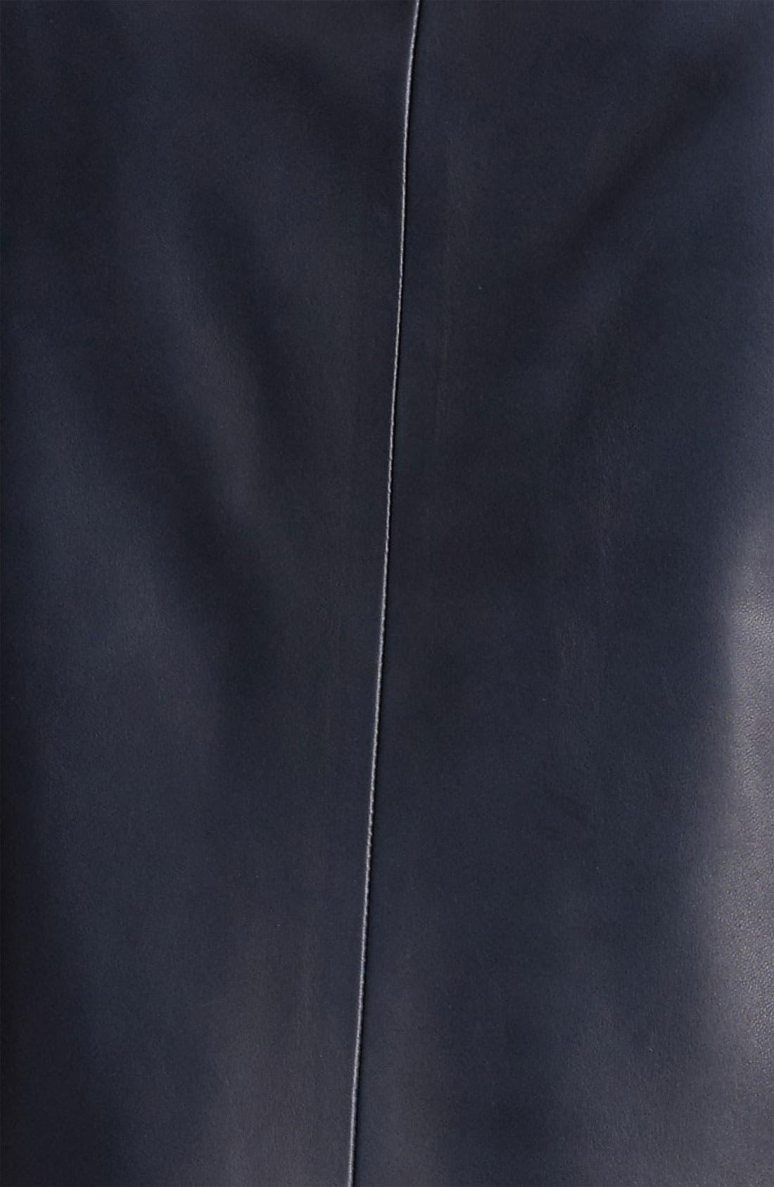 Alternate Image 3  - Jason Wu Nappa Leather Jacket