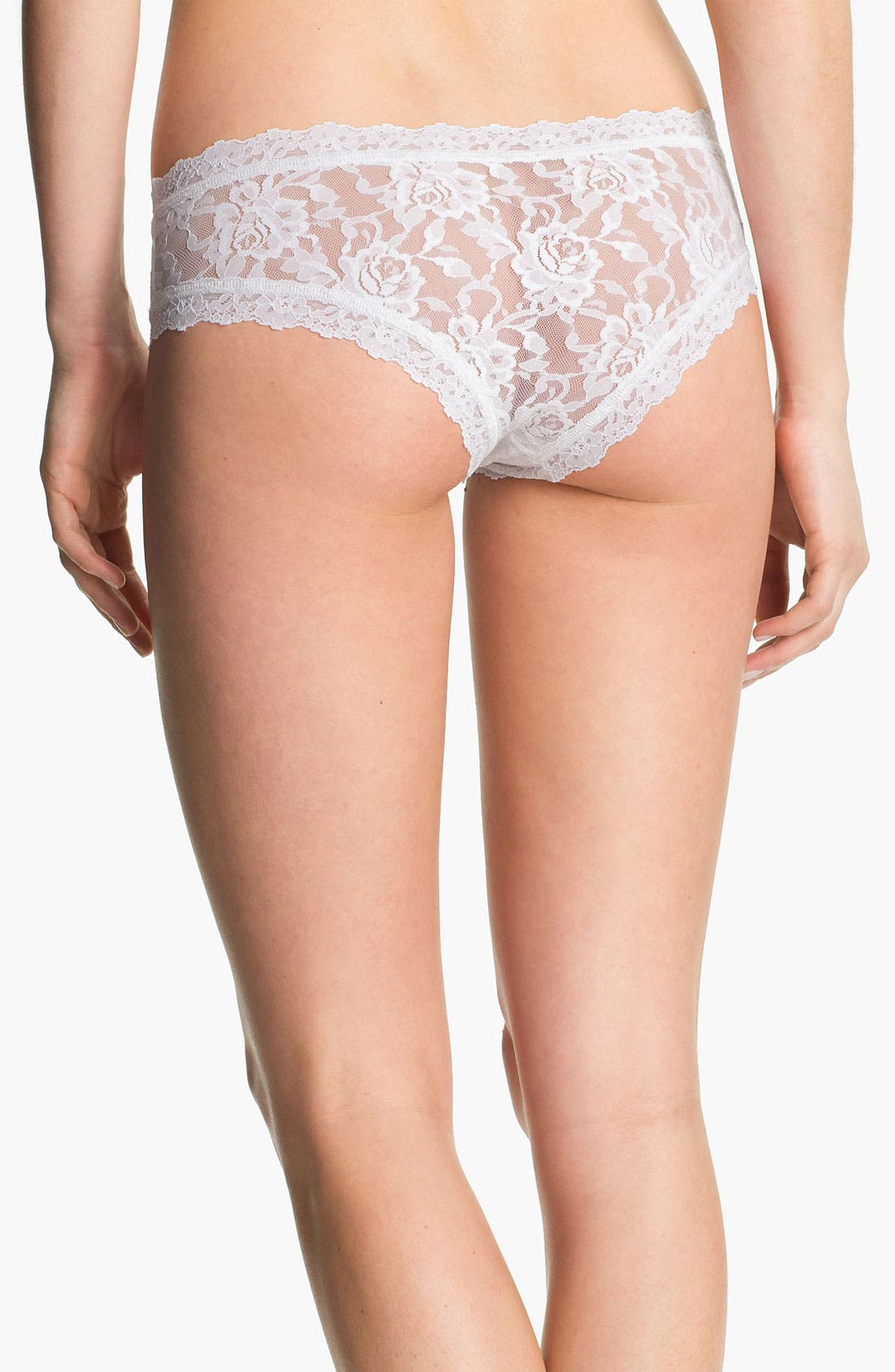 Alternate Image 2  - Hanky Panky 'I Do' Swarovski Crystal Cheeky Hipster Briefs