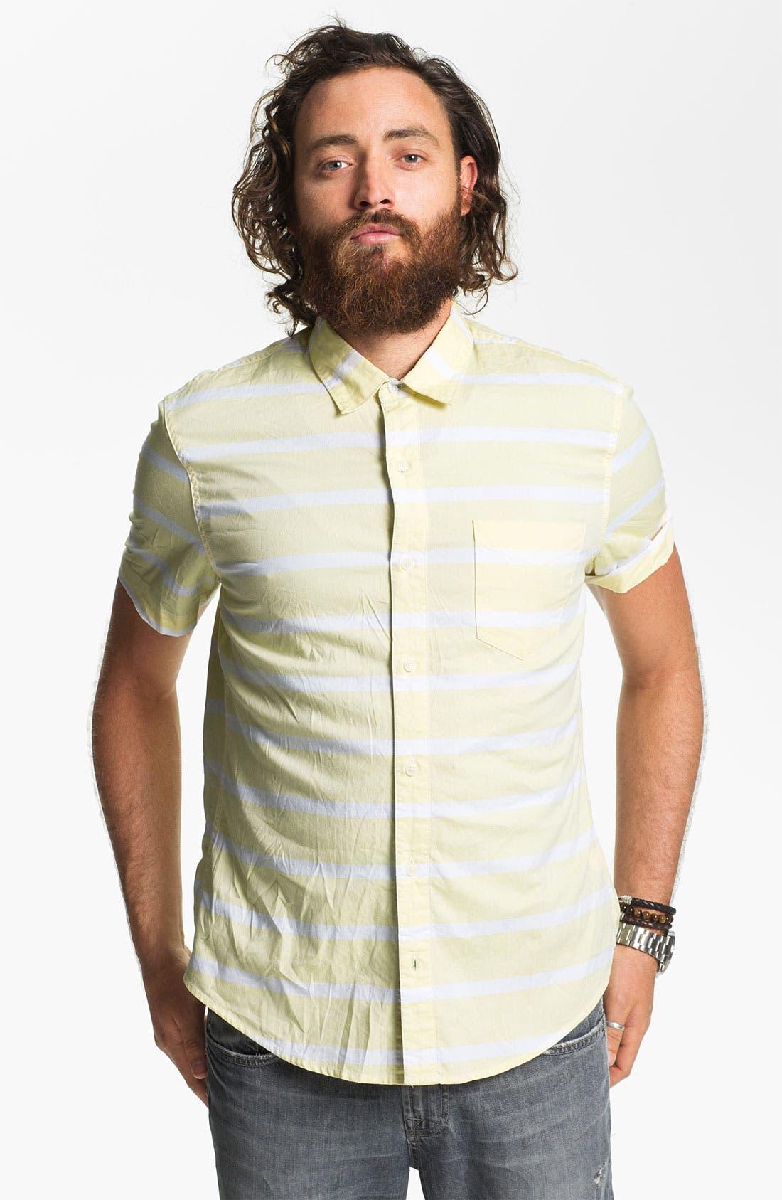 Alternate Image 1 Selected - 1901 Stripe Woven Shirt